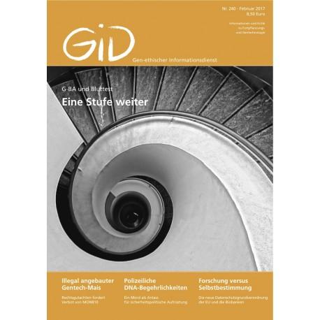 Gen-ethischer Informationsdienst 240