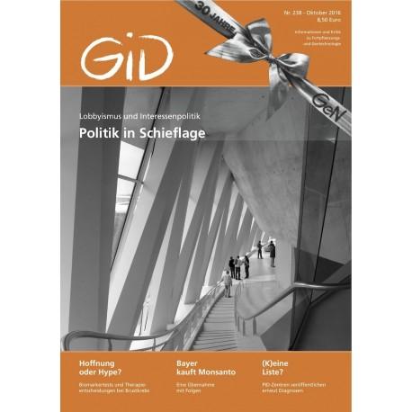 Gen-ethischer Informationsdienst 238