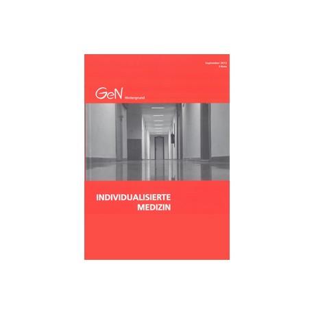 """""""Individualisierte Medizin"""" - Unternehmen, Politik und Forschung"""
