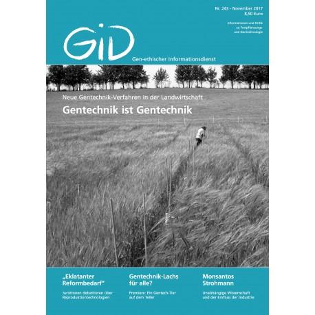 Gen-ethischer Informationsdienst 243