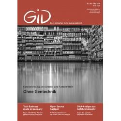 Gen-ethischer Informationsdienst 244
