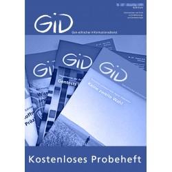 Probeheft: Gen-ethischer Informationsdienst