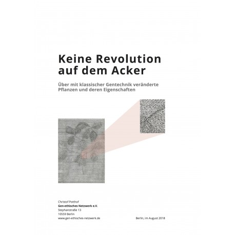 Keine Revolution auf dem Acker